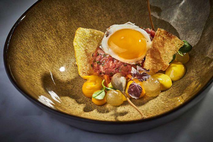 Beef Tartar vom Rinderfilet - Rezept vom Haubenkoch Patrick Raaß