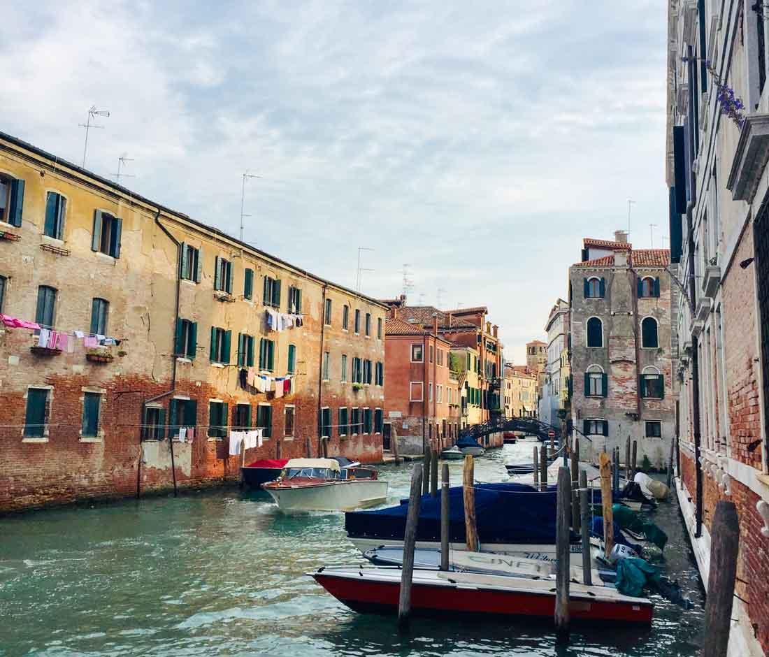Venedig - die Stadt auf dem Wasser