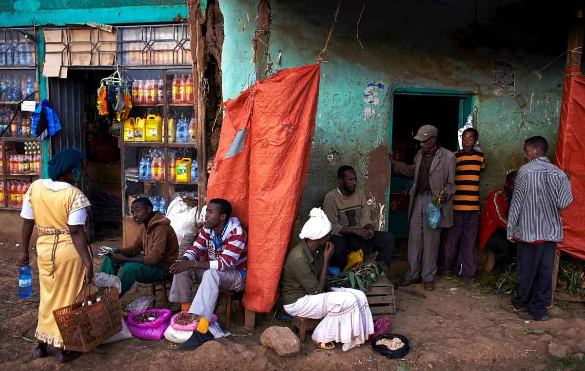 Königreich Kaffa Äthiopien: Urheimat des Kaffeestrauches