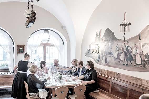 Gourmetrestaurant von Familie Döllerer