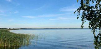 Am Stettiner Haff: Kräuselnd Blau und wogend Grün