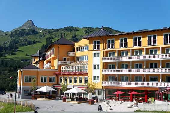 Tief durchatmen im Hotel Steiner in Obertauern
