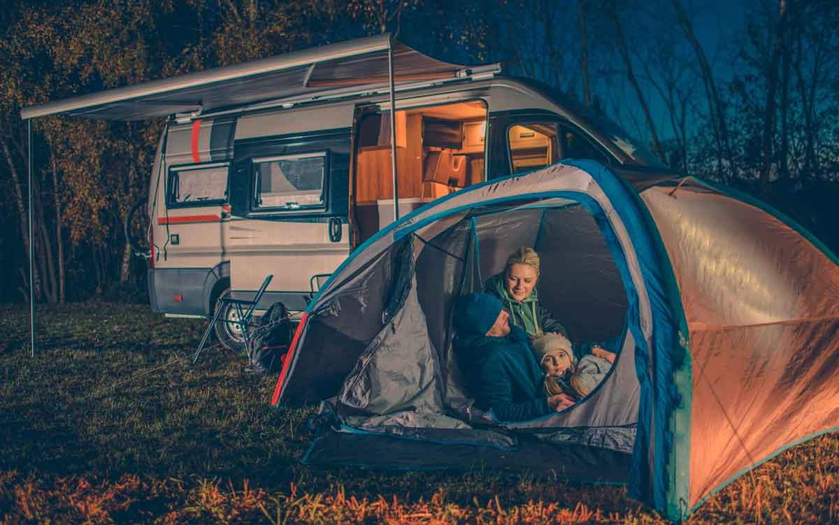Bald wieder Campingurlaub am See in Südtirol