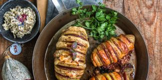 Hasselback-Kartoffeln à la Pick mit getrüffeltem Pecorino