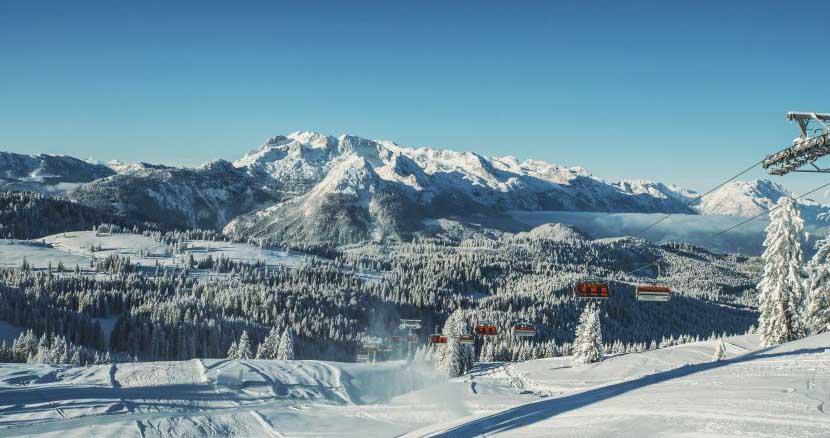 Skiregion Dachstein West: Gaudi ohne Drängeln auf Pisten