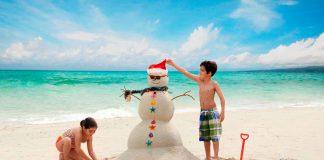 Weihnachten in der Inselwelt: Feiern unter Palmen