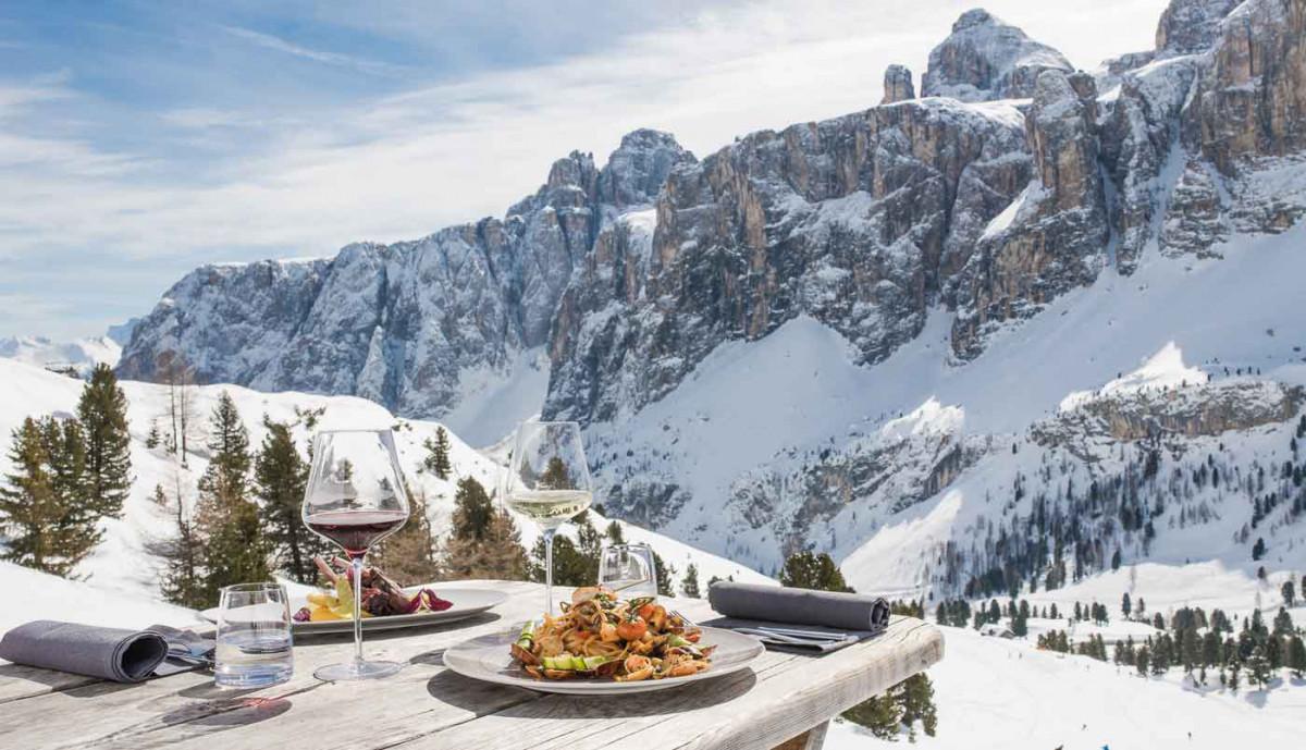Sterneköche - nachhaltige Küche - Alta Badia: Skifahren mit Genuss
