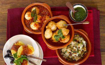 Spanisches Flair auf dem Teller: Kartoffeltapas