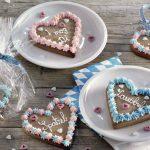 Lebkuchenherzen für Valentinstag, Muttertag oder einfach nur so...