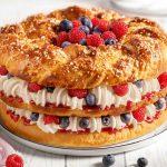 Hefekranz-Torte