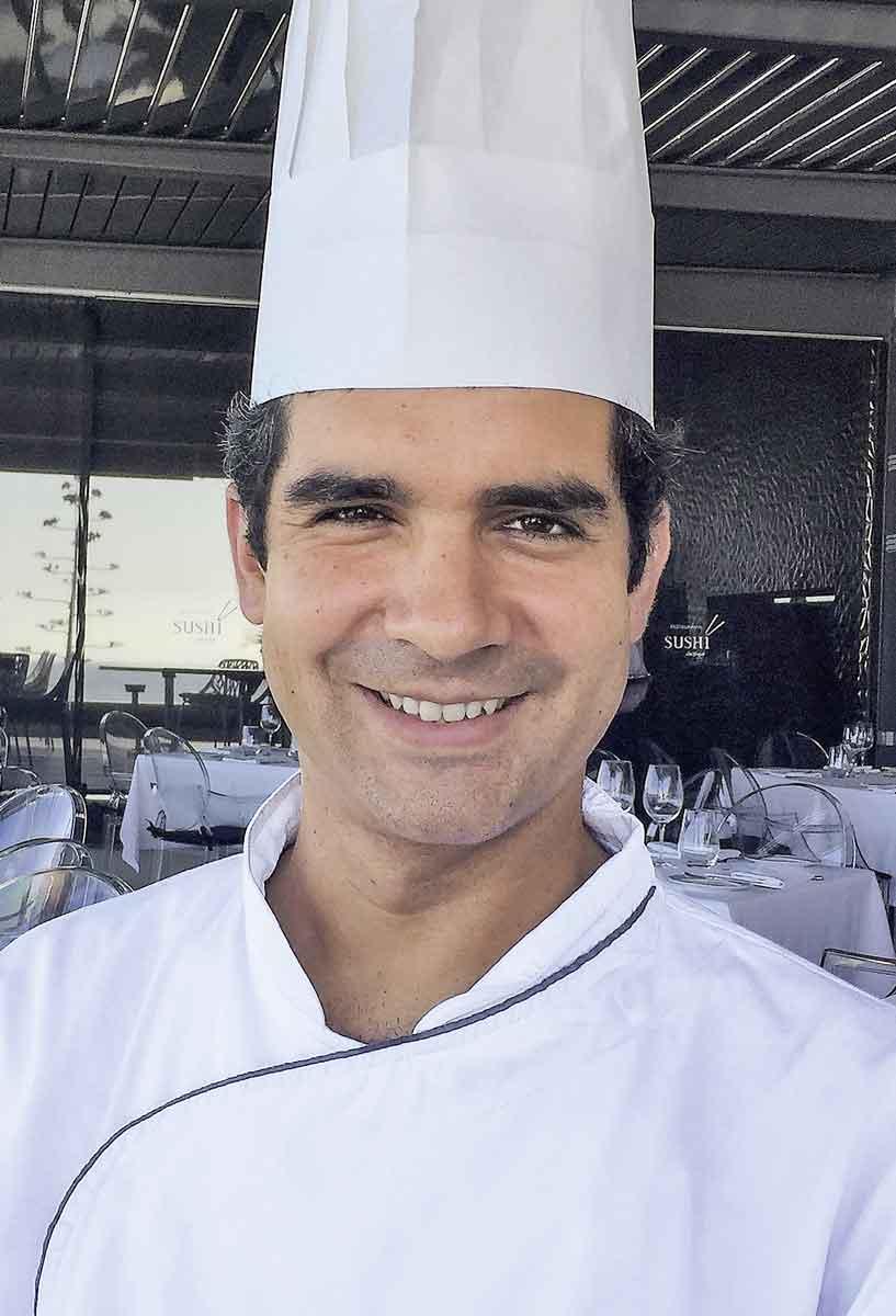 Küchenchef Riardo Deus