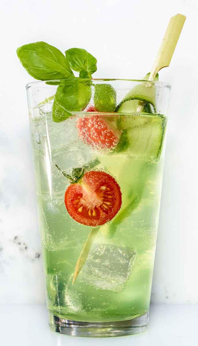 Gartenkunst - ein alkoholfreier Cocktail