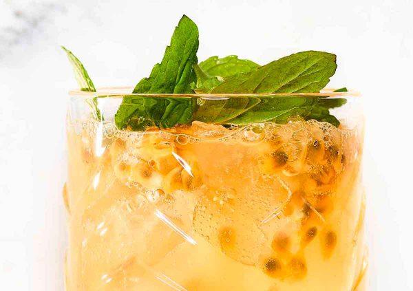 Alkoholfreier Cocktail bringt Power: Yellow Cup