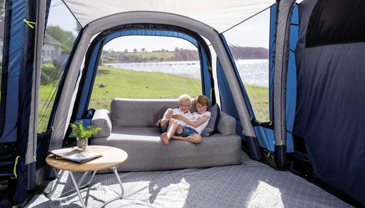 Camping: Ein Zuhause weg von zu Hause
