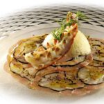 Carpaccio vom Yellowfin-Thunfisch