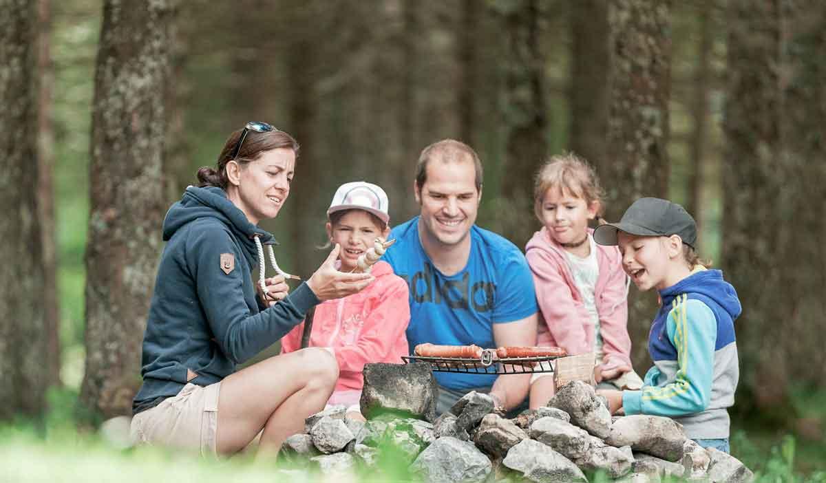 Mausstarker Familienurlaub im Erholungsgebiet Malbun