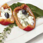 Fleischloses vom Grill: Kartoffelgemüse und Gefüllte Paprika