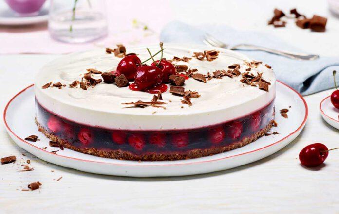Philadelphia Torte Schwarzwälder-Kirsch laktosefreiPhiladelphia Torte Schwarzwälder-Kirsch laktosefrei