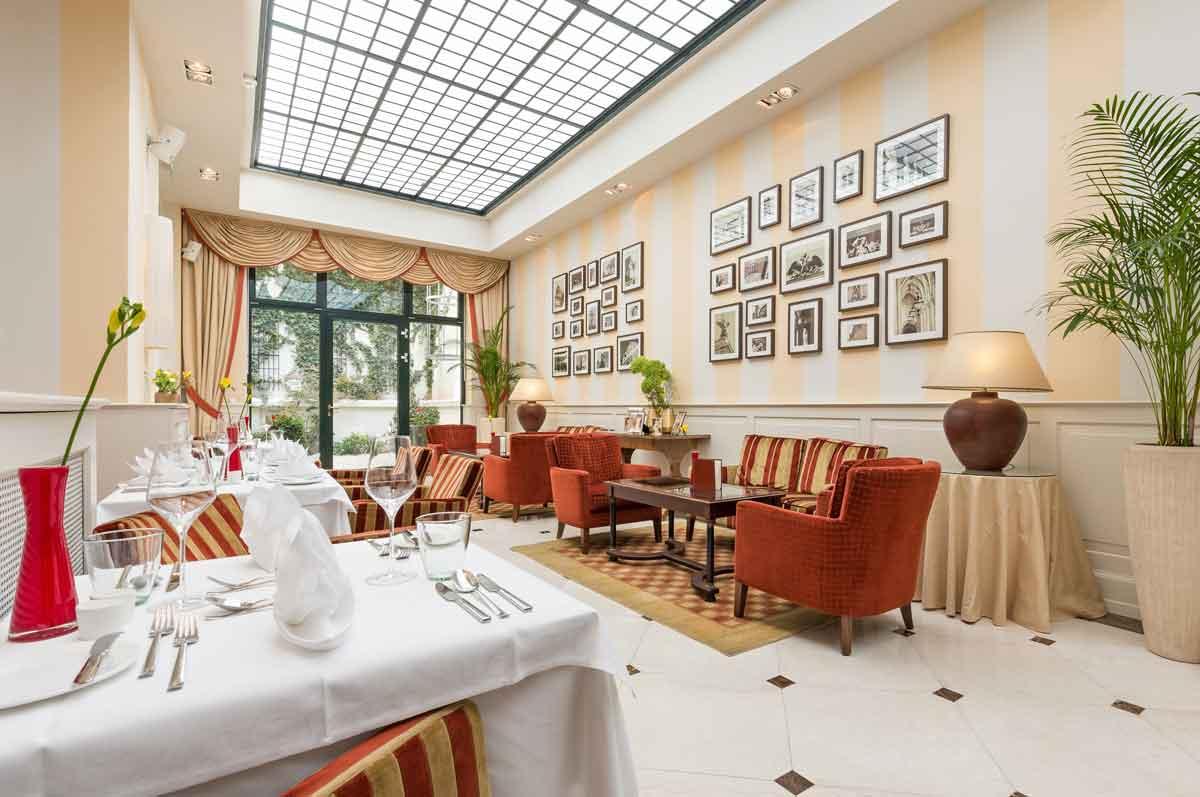 Charme und Stil von Alt-Österreich in Wien: Hotel Kaiserhof