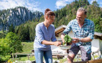 Kräuter auf der Alm: Ideen für Florian Lechner von Bergbäuerin Sandra Hörterer