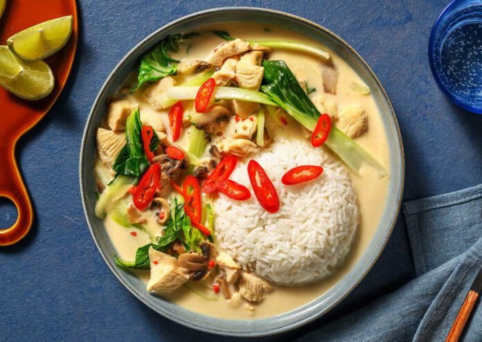 Soulfood aus Thailand: Tom Kha Gai - Kokossuppe mit Hähnchen